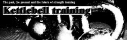 Kettlebell training...